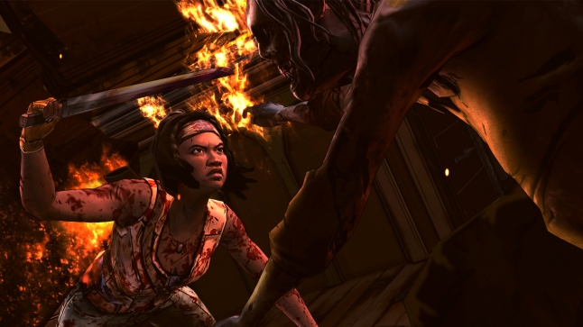 The Walking Dead: Michonne - Fight