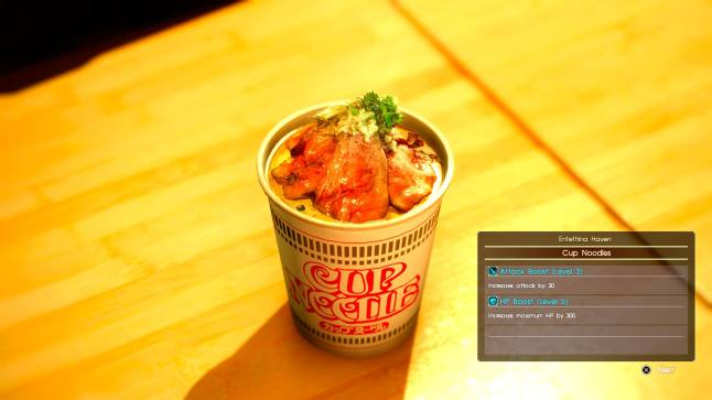 Firmware Update 1.83: Delicious Cup Noodles